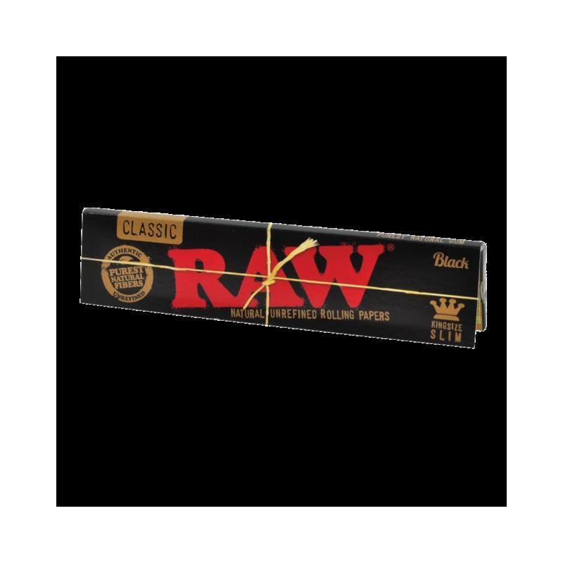 پیپر راو کوتاه نازک Raw Black