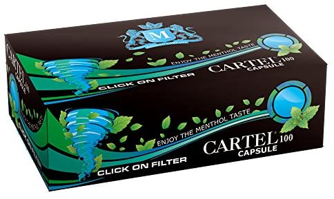 پوکه سیگار با فیلتر کپسول دار نعنائی کارتل Cartel