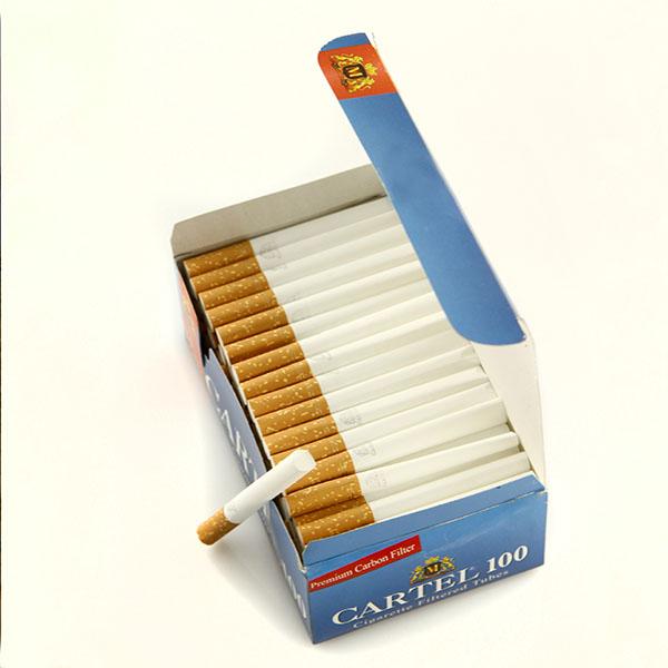 پوکه سیگار فیلتر دار کارتل ۱۰۰ عددی