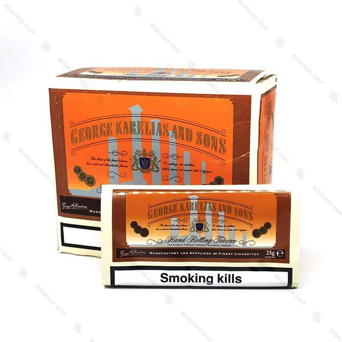 توتون سیگار دست پیچ کارلیا – George Karelias and Sons