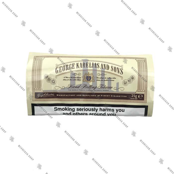 توتون سیگار دست پیچ جرج کارلیا George Karelias