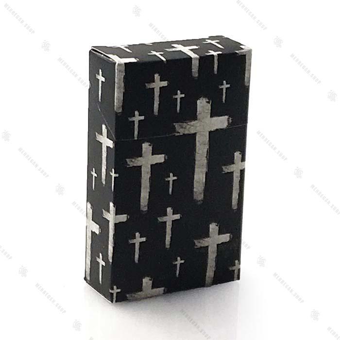 کاور پاکت سیگار طرح صلیب