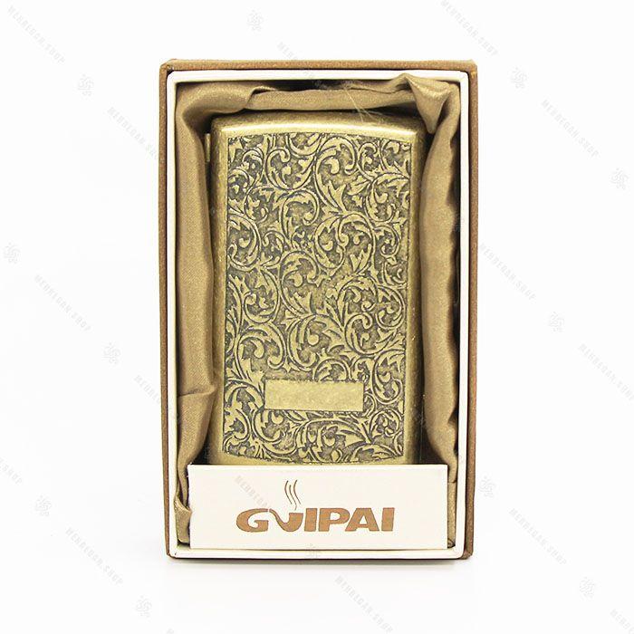 جعبه سیگار فلزی برنزی Gvipai