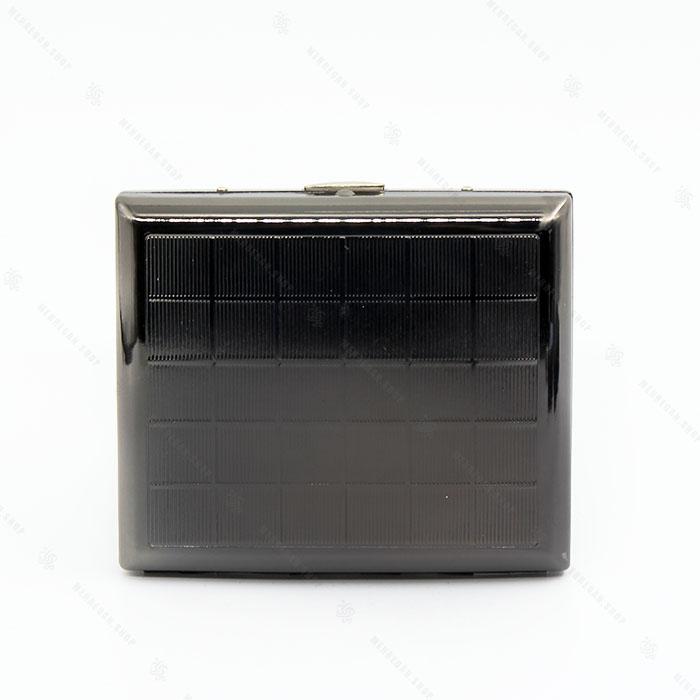 جعبه سیگار فلزی مشکی