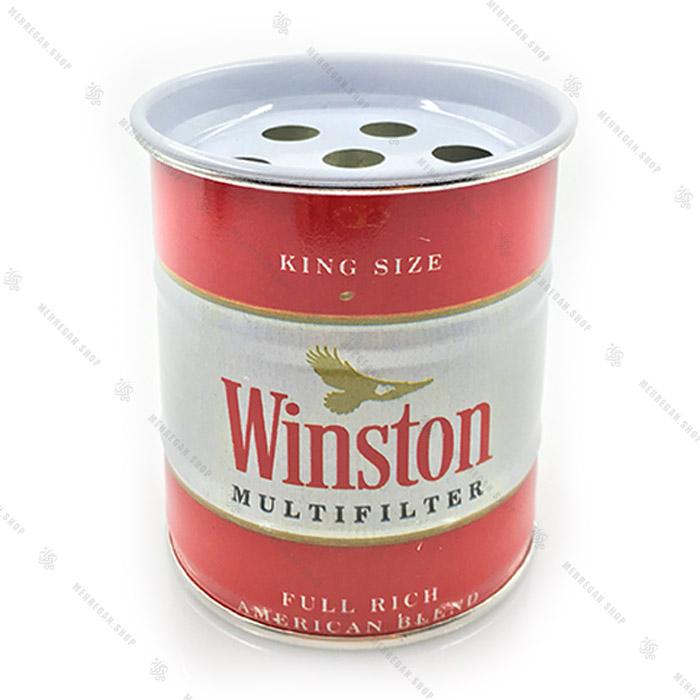 زیرسیگاری بشکه ای طرح Winston