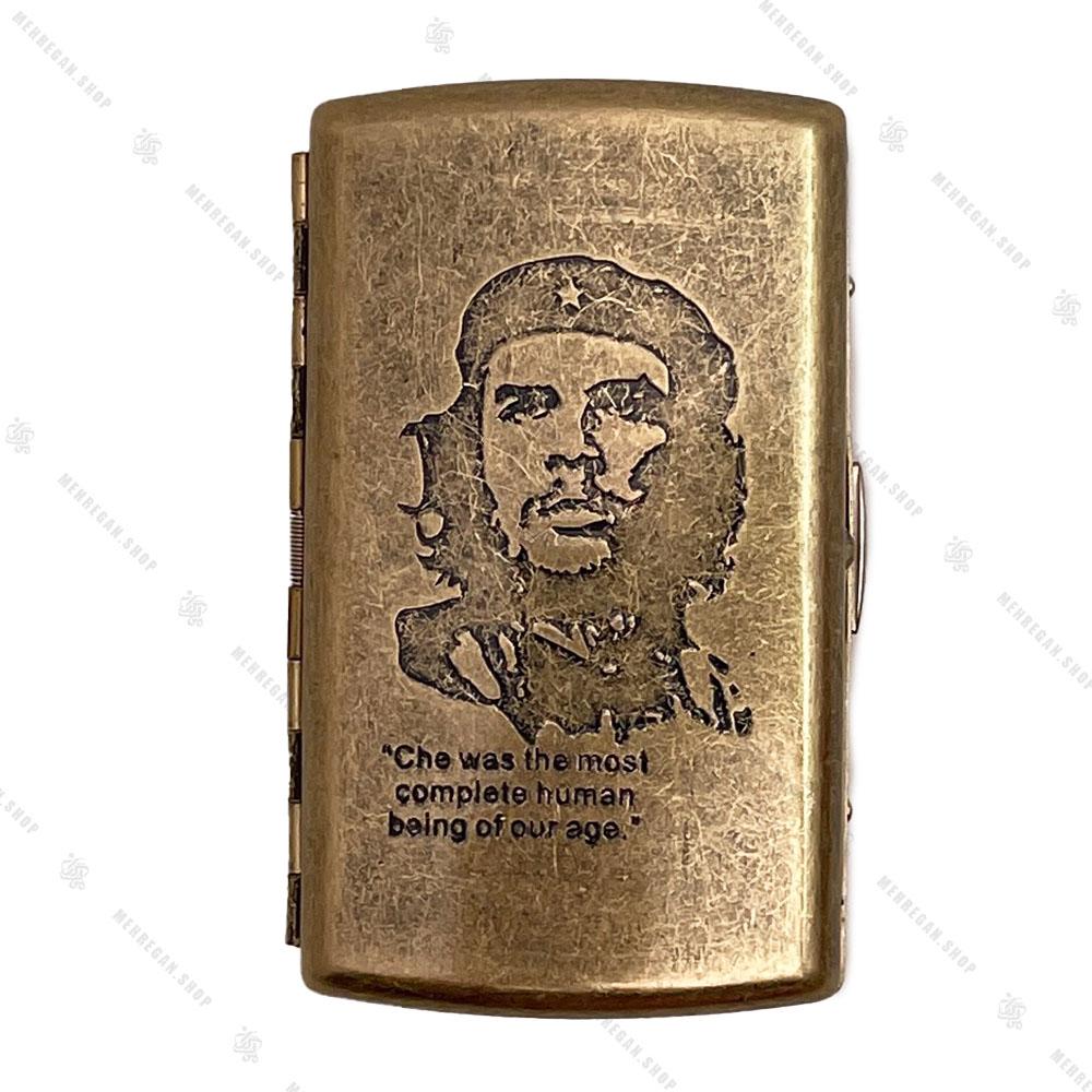 جعبه سیگار فلزی برنزی Guipai مدل چگوارا – CHE