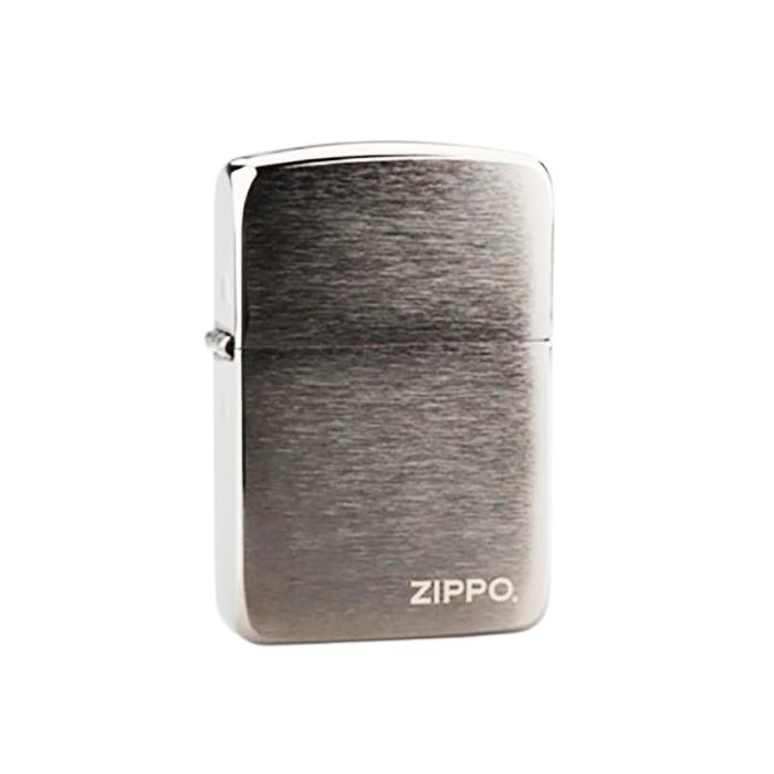 فندک زیپو Zippo کروم لوگو دار Black Ice 1941 Replica