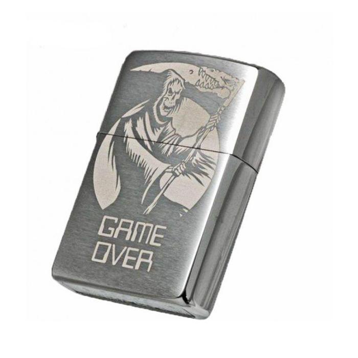فندک زیپو Zippo مدل Game Over کد 29696