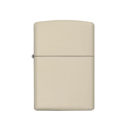 فندک زیپو Zippo مدل Regular Cream Matte