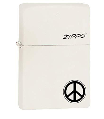 فندک سیگار زیپو مدل Peace Sign کد 214