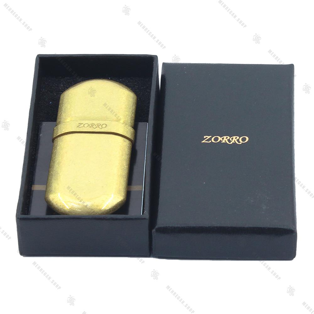 فندک بنزینی زورو مدل ZORRO SN-LIZO-2001-2