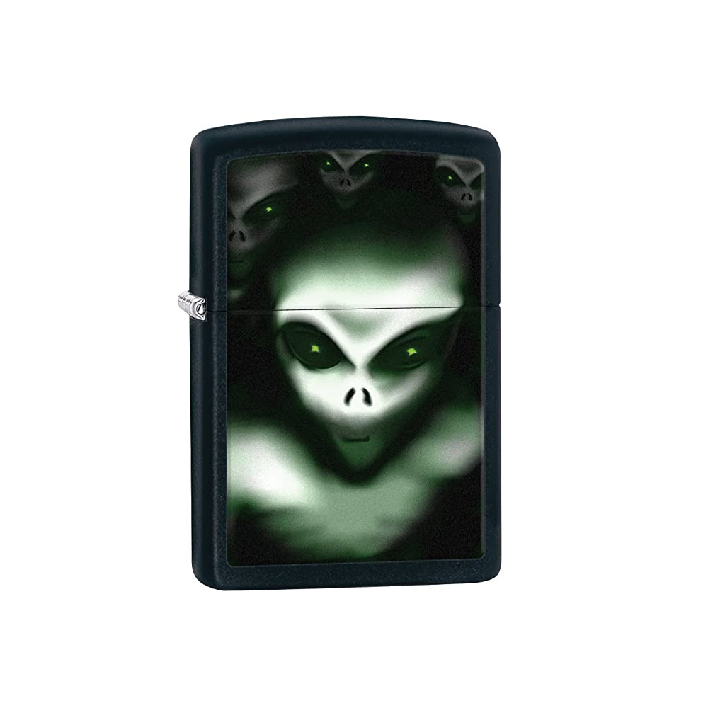 فندک اصل زیپو مدل Scary Alien