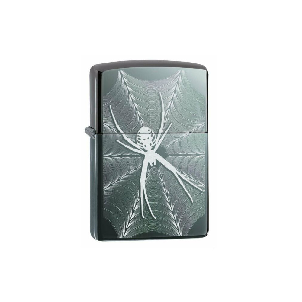 فندک زیپو اورجینال مدل Spider & Web