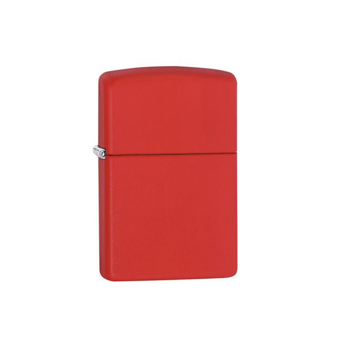 فندک زیپو Zippo مدل Regular Red Matte