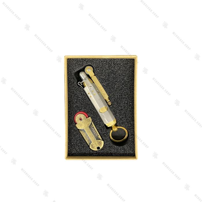 فندک نقره ای جیفنگ Jifeng