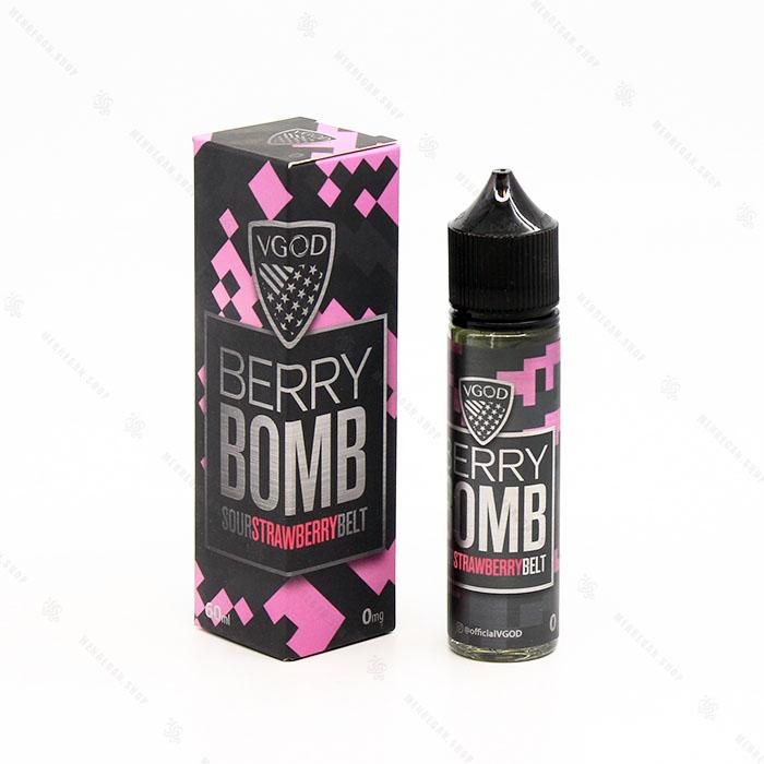 جویس بدون نیکوتین ویگاد Berry Bomb