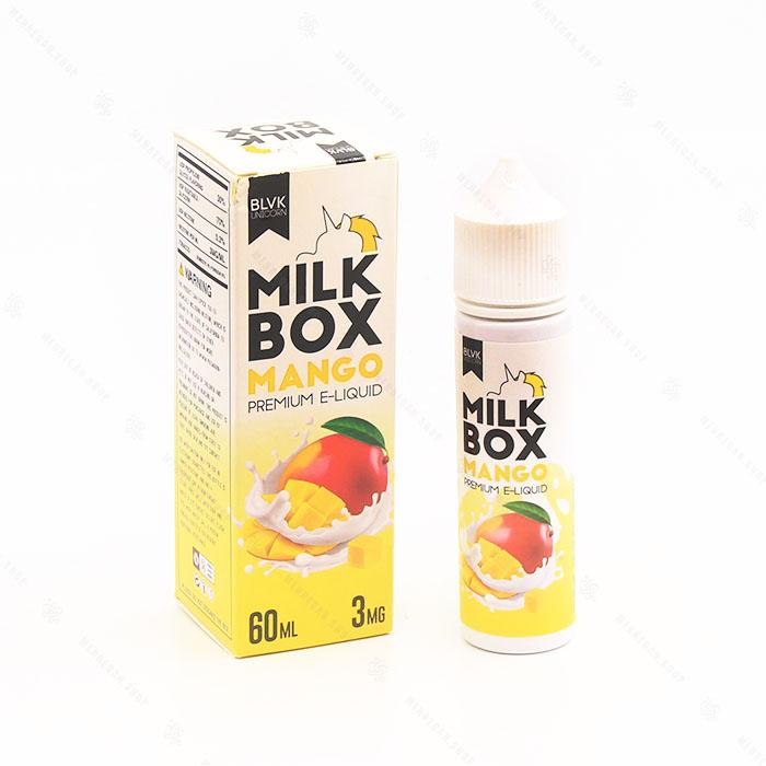 جویس blvk milkbox mango 3mg