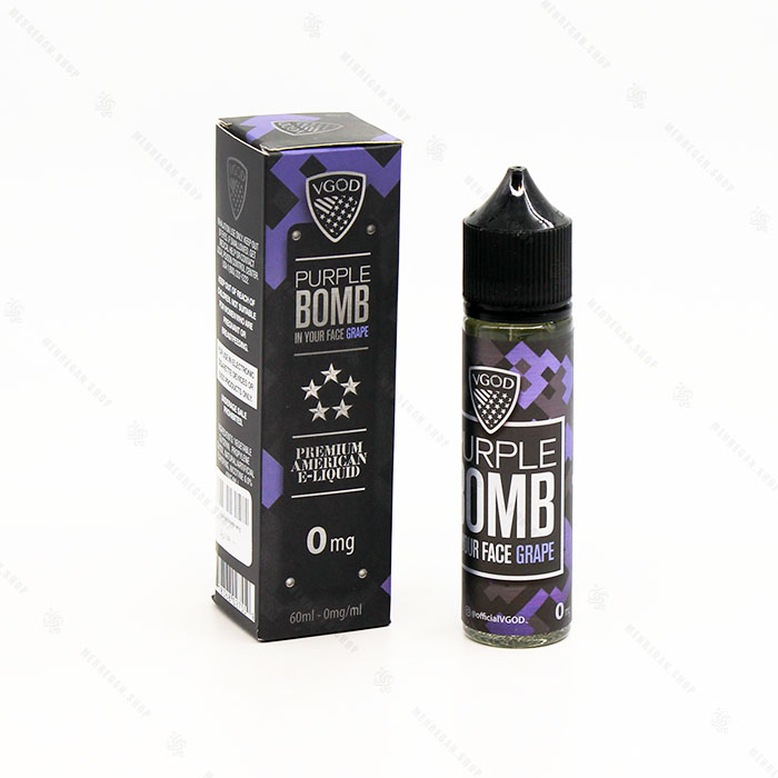 جویس بدون نیکوتین purple bomb